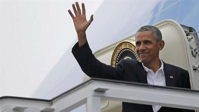 Obama Arrives in Japan for G7 Summit and Visit to Hiroshima: AFP