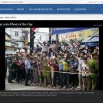 """Nhà Trắng chọn 2 ảnh trong chuyến thăm của Tổng thống Obama tới Việt Nam làm """"ảnh ấn tượng nhất trong ngày"""""""