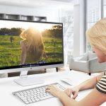 Màn hình Full HD đa phương tiện có thiết kế phong cách mới ViewSonic VX
