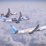 Sau máy bay Boeing 787 là chuyến bay vũ trụ Star Wars cùng ANA