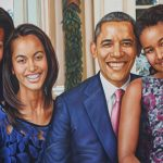 Sir Obama and his family