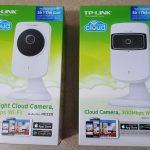 Vọc chào sân hai chiếc Cloud camera NC220 và NC200 của TP-LINK