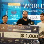 Giải ép xung thế giới HWBOT World Tour 2016 COMPUTEX 2016: Chiến thắng thuộc về Xtreme Addict