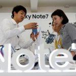 Samsung Việt Nam thông báo về việc thu đổi Galaxy Note7 để bảo đảm an toàn cho khách hàng
