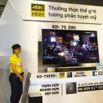Sony giới thiệu TV Bravia 4K HDR Z9D đỉnh của dòng Z Series