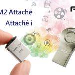 Ổ USB Flash Micro M2 Attaché và Attaché i mới của PNY