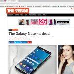 R.I.P. Galaxy Note7