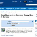 Hành khách không còn được bay với Note7 ở Mỹ