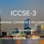 Hội thảo quốc tế về Khoa học và Kỹ thuật Tính toán lần 3 (ICCSE-3)