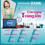 Khuyến mãi thiết bị mạng D-Link cuối năm