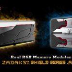 Dòng RAM DDR4 và ổ SSD ZADAK511 SHIELD RGB dành cho dân chơi máy tính