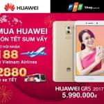 Huawei khuyến mãi giúp người dùng đón Tết đoàn viên