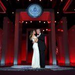 Tỷ phú Trump lần đầu tiên khiêu vũ tại Nhà Trắng