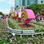 PHÓNG SỰ ẢNH: Đường Hoa Nguyễn Huệ Saigon Tết Đinh Dậu 2017 (P 4/6)