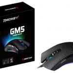Hãng Biostar ra mắt chuột chơi game Racing GM5 hỗ trợ tới 7.200dpi