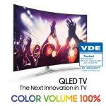 TV QLED 2017 của Samsung hiển thị được 100% dải màu sắc