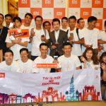 Xiaomi chính thức vào thị trường Việt Nam.