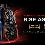 Bộ đôi card đồ họa Asus ROG Strix GeForce GTX 1080 Ti và Turbo GeForce GTX 1080 Ti