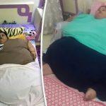 Người phụ nữ nặng nhất thế giới giảm được 242kg trong 2 tháng