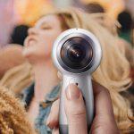 Camera Samsung Gear 360 phiên bản 2017 quay video Full 4K 360 độ