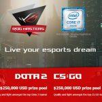 ASUS Republic of Gamers công bố giải đấu eSports ROG Masters 2017