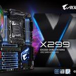 Gigabyte giới thiệu motherboard X299 AORUS Gaming mạnh nhất cho nền tảng Intel desktop