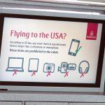 Thiết bị điện tử lớn hơn smartphone bắt đầu bị kiểm tra trên các chuyến bay thẳng từ Đài Loan tới Mỹ