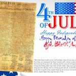 Happy Fourth of July – Independence Day