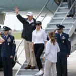 VIDEO: Tổng thống Donald Trump thăm vùng bị bão Harvey tiểu bang Texas