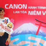 Chuyến xe Canon và hành trình xuyên Việt lan tỏa niềm vui