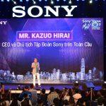 Chủ tịch và CEO Tập đoàn Sony toàn cầu Kazuo Hirai xuất hiện tại Sony Show 2017 TP.HCM