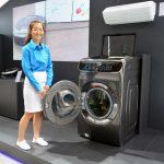 Samsung ra mắt máy giặt đa nhiệm lồng đôi FlexWash