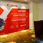 Tháng 10-2017 với Canon EXPO và Canon PhotoMarathon tại Việt Nam
