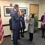 VIDEO: Tân Đại sứ Mỹ ở Việt Nam Dan Kritenbrink gửi lời chào bằng tiếng Việt