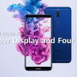Huawei đưa ra thêm phiên bản smartphone nova 2i màu xanh