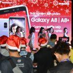 Viễn Thông A cho người dùng trải nghiệm smartphone Samsung Galaxy A8(2018) và A8+(2018)