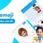 """Zamoji cho phép tự tạo sticker ảnh cá nhân để """"chat chit"""""""