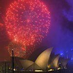 Màn bắn pháo bông ngoạn mục Giao thừa Năm mới 2018 tại Sydney (Úc)