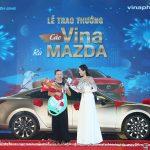 VinaPhone trao thưởng ô tô Mazda cho khách hàng tại Kiên Giang