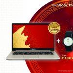ASUS tặng đồng hồ Casio cho khách mua laptop VivoBook X510