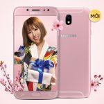 Samsung Galaxy J7 Pro phiên bản màu hồng cho phái đẹp