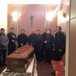 Đã tiến hành nghi thức tẫn liệm Đức cố Tổng giám mục Bùi Văn Đọc tại Rome.