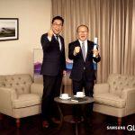 Huấn luyện viên Hàn Quốc Park Hang Seo trở thành đại sứ thương hiệu Samsung tại Việt Nam