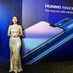 """Smartphone Nova 3e """"tai thỏ"""" đầu tiên của Huawei được bán ở Việt Nam"""
