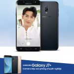 Smartphone Samsung Galaxy J7+ có mức giá mới