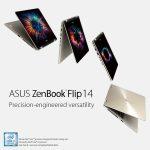 Laptop 2-in-1 gập xoay mới ASUS ZenBook Flip 14 (UX461) ra mắt tại Việt Nam