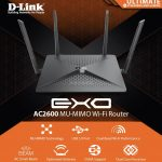 D-Link DIR-882, Wi-Fi router cho streaming video UHD 4K