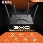 D-Link DIR-882, Wi-Fi router cho streaming video UHD 4K