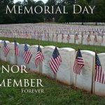 Chúc mừng Ngày Tưởng niệm Memorial Day 2018