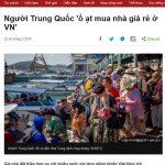 Người Trung Quốc 'ồ ạt mua nhà giá rẻ ở VN'